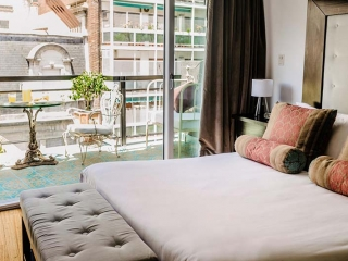 Apart Hotel Buenos Aires Balcony Aside Bedroom