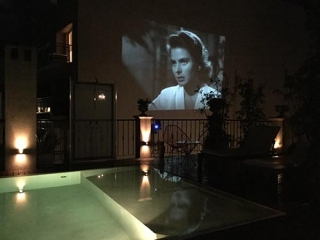 Luxury Rental Apartments Buenos Aires Pool Movie Night Chairs Lamps Speakers